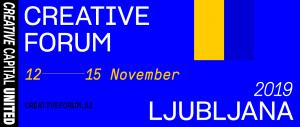 Creative Forum Ljubljana 2019